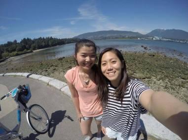 Bike ride with my best friend :)