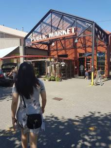 Main Granville Island Market for Food and Produce